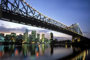 australien queensland brisbane brisbane city skyline450x300