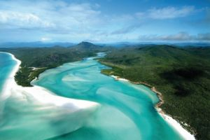 australien queensland whitsundays hill inlet whitehaven 3