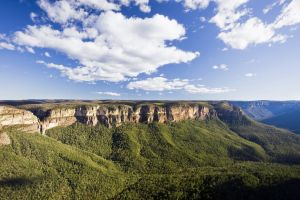 australien new south wales blue mountains aerial 16