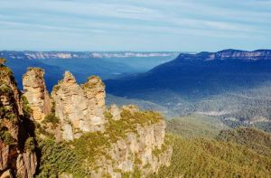 Australien/NSW/Blue Mountains Three Sisters