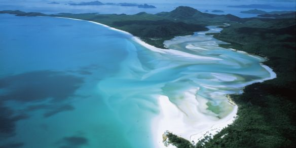 Australia Tours - Australien/Whitsunday_Island_Whitehaven_Beach