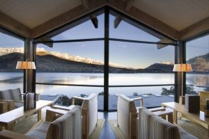Neuseeland/ZQN/The Rees Hotel & Luxury Appartements-Restaurant